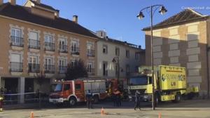 Un hombre muere en el incendio en una residencia de ancianos en San Sebastián de los Reyes
