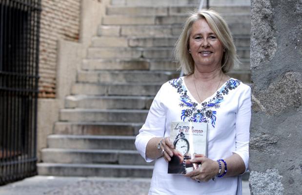 Inmaculada Rodríguez, autora de «La mano en el tiempo»