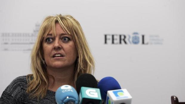 Beatriz Sestayo, portavoz del grupo municipal del PSdeG en Ferrol