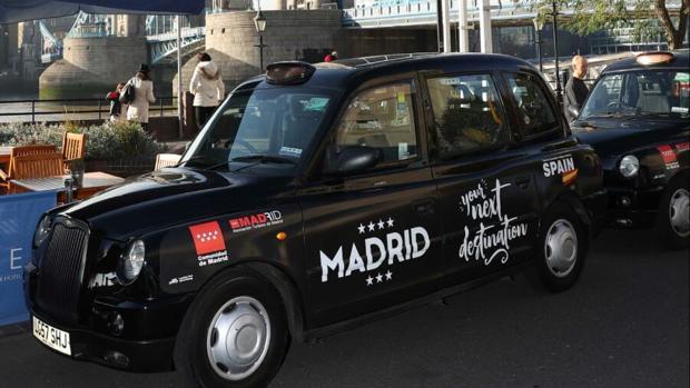 Los taxis que circulan por el centro de Londres