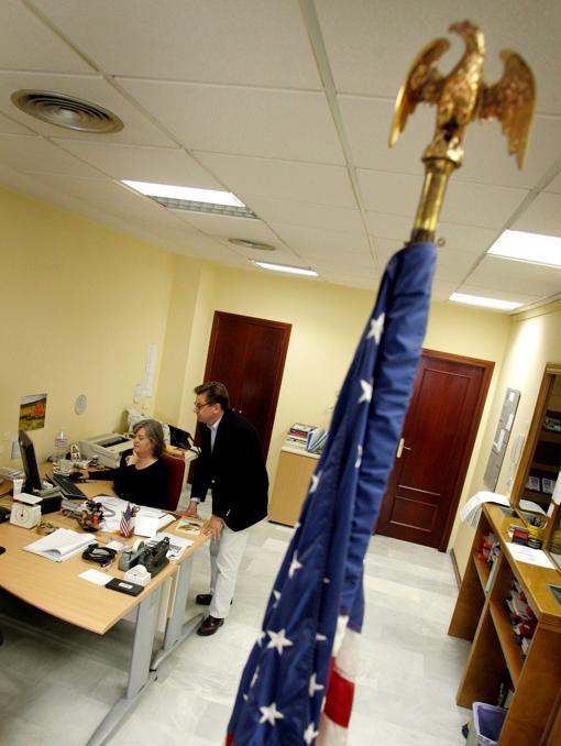 Imagen de archivo del Consulado de Estados Unidos en Valencia