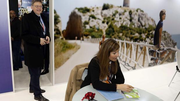 Imagen de Ximo Puig durante su viaje oficial a Londres