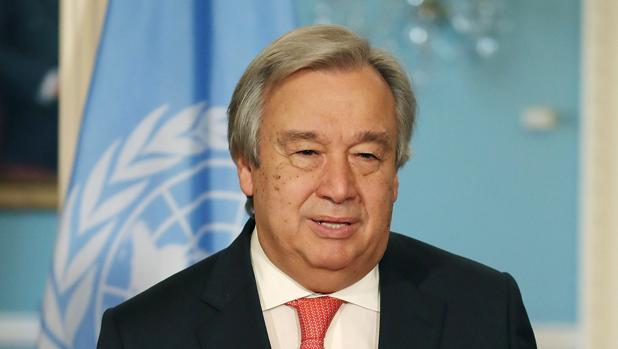 El recién elegido secretario general de la ONU, Antonio Guterres