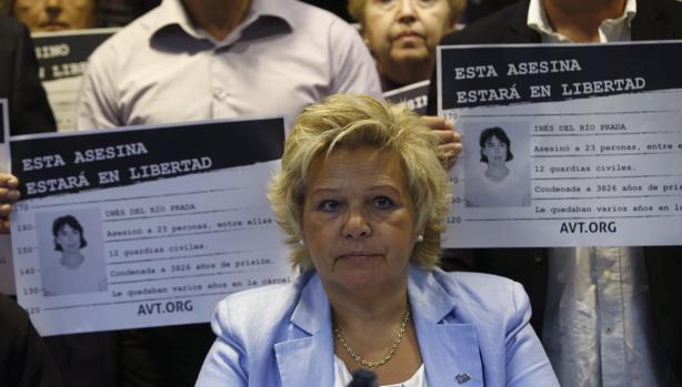 Ángeles Pedraza, presidenta de honor de la Asociación de Víctimas del Terrorismo