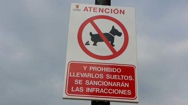 Imagen de una de las señalizaciones de la campaña del Ayuntamiento de Paterna