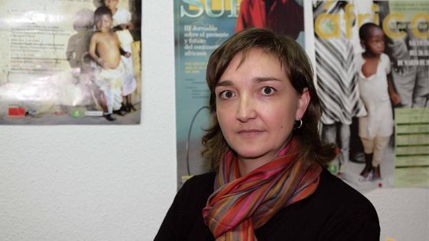 La responsable de Sensibilización de Cáritas Salamanca, Belén Santamaría