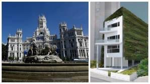 Carmena cubrirá el Palacio de Cibeles con un jardín vertical