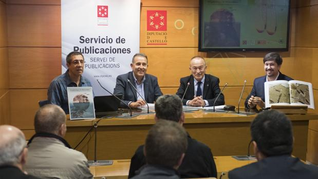 Imagen de la presentación del libro de la Diputación de Castellón