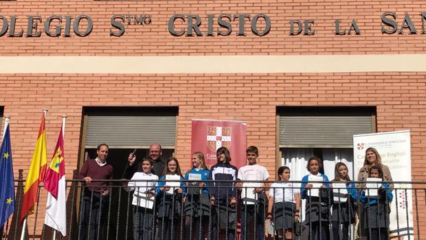 Jornada de inmersión lingüística en el colegio Santísimo Cristo de la Sangre de Torrijos