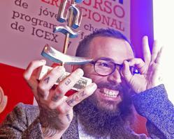 Alberto Montes Pereira, del restaurante Atrio, es el vencedor del Concurso Nacional de Pinchos