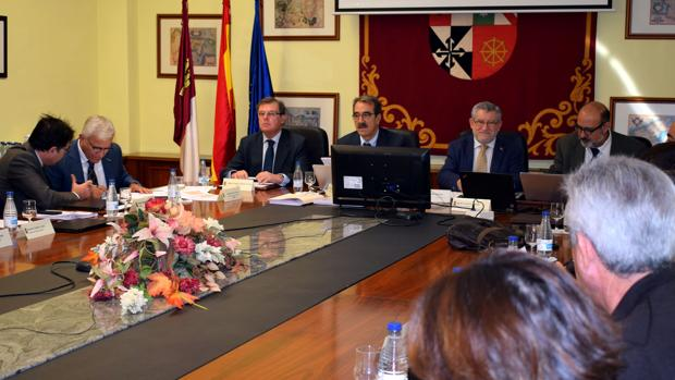 Reunión del Consejo Social de la UCLM