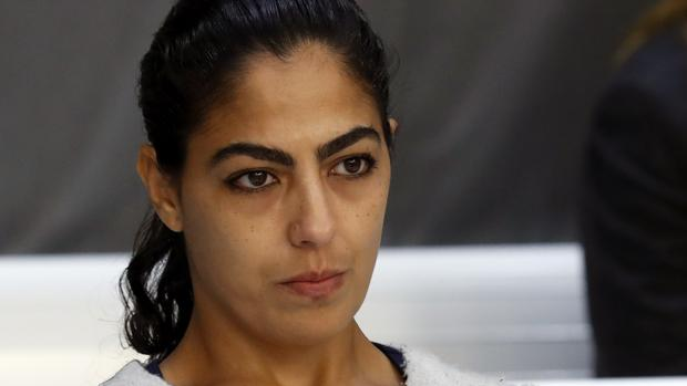 Samira Yerou, en el juicio en la Audiencia Nacional