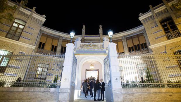 Imagen de la entrada del Balneario Alameda de Valencia