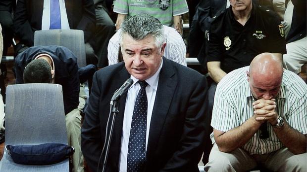 Juan Antonio Roca, durante la última sesión del juicio del caso «Malaya» en 2012