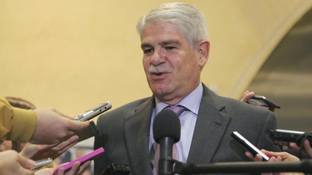 Alfonso Dastis, ministro de Exteriores