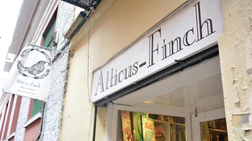 La pequeña y acogedora librería Atticus Finch, en la calle La Palma