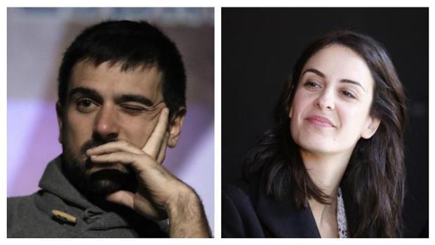 Ramón Espinar y Rita Maestre