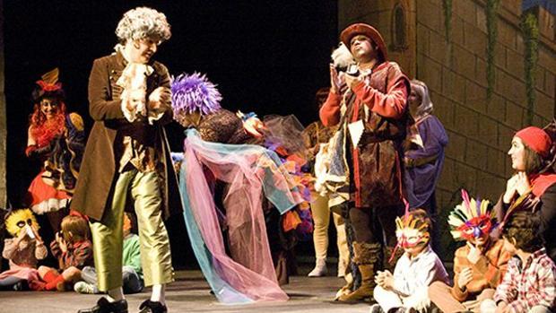 La flauta mágica, en el Teatro Bellas Artes