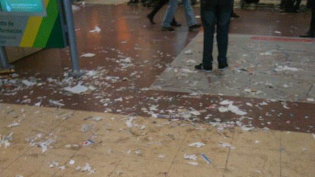 Huelga indefinida de limpieza en Chamartín y Puerta de Atocha