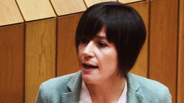 Ana Pontón, portavoz del BNG en la Cámara gallega