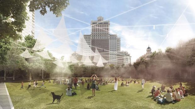 Representación del proyecto Mi rincón favorito de Madrid