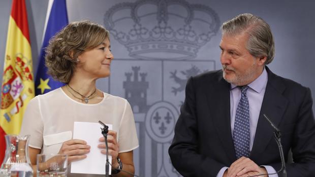 Isabel García Tejerina e Íñigo Méndez de Vigo