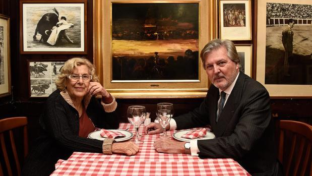 Manuela Carmena e Íñigo Méndez de Vigo