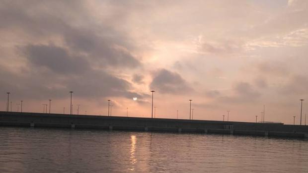 Imagen de la zona de la Marina Norte en la que fue hallado el cadáver