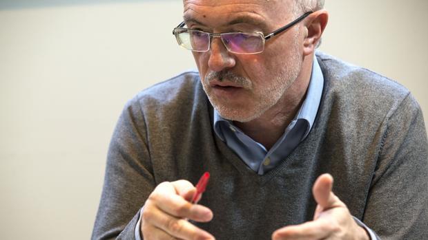 Imagen del líder de Podemos en la Comunidad Valenciana, Antonio Montiel
