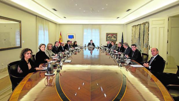 El primer Consejo de Ministros tras la formaciónd el Gobierno, el pasado 4 de noviembre
