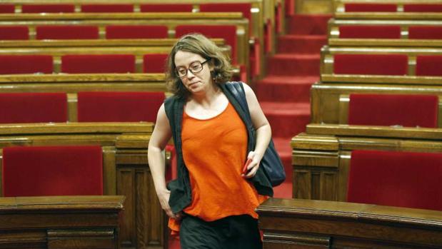 Eulalia Reguant, en una imagen de archivo en el Parlament