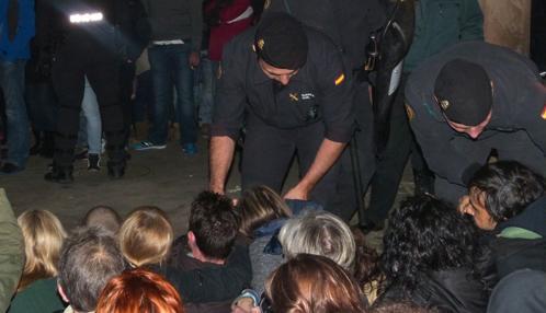 Un antitaurino fue detenido en 2015 por golpear a un guardia civil