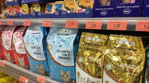 Imagen de los productos para mascotas