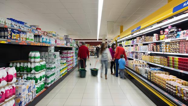 Imagen de archivo de un supermercado de Mercadona en Córdoba
