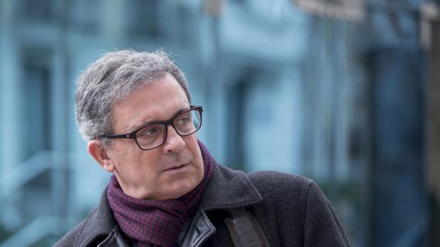 Jordi Pujol Ferruola, alias «Junior», tras declarar en la Audiencia Nacional