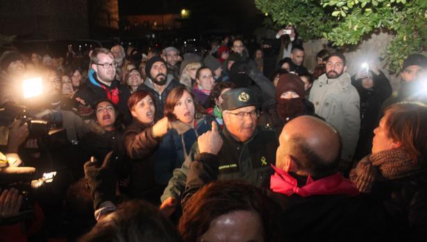 Enfrentamiento entre antitaurinos y defensores del Toro Jubilo