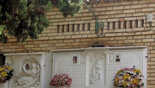 Imagen de las tumbas de las «niñas de Alcácer»