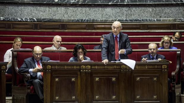Imagen de los concejales del PP en Valencia tomada durante un pleno municipal