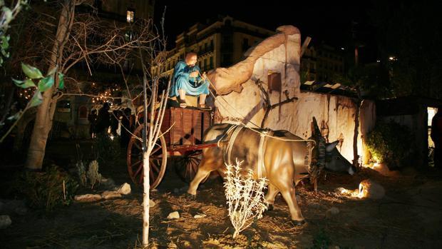 Este tradicional belén atrae cada año a miles de visitantes