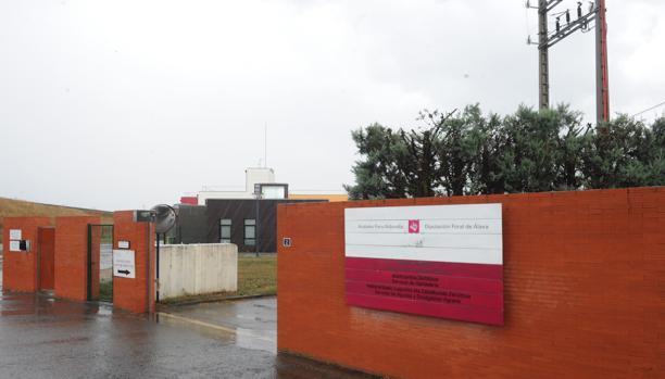 El centro de menores de Sansoheta, en Vitoria