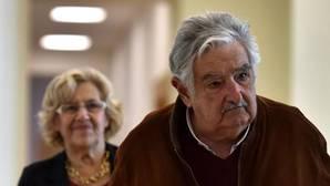 Mujica y Carmena, hoy en Cibeles