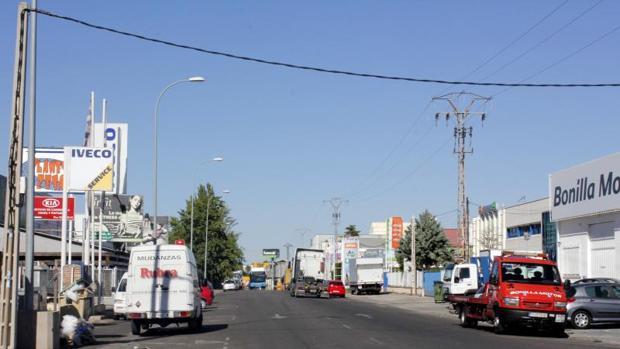 La renovación de la calle Jarama, en el polígono industrial, sería uno de los destinos de los fondos de la UE