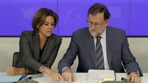 Rajoy anuncia «decisiones razonables» de regeneración en el próximo congreso del PP