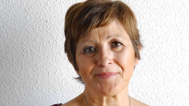 La alcaldesa de Albalate de Zorita, Dolores Ortega