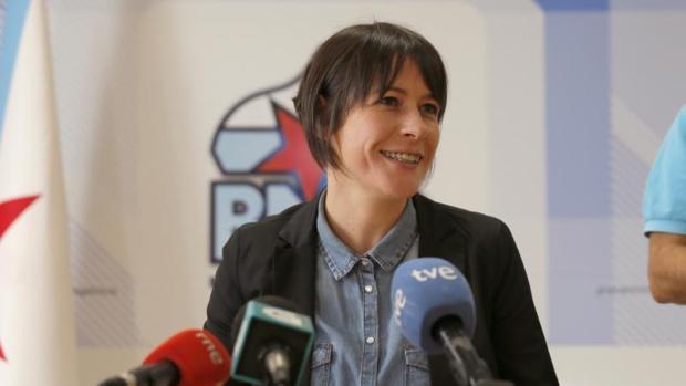 Ana Pontón, portavoz del BNG