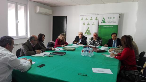El comité regional de Asaja se ha reunido en Ciudad Real, presidido por Pedro Barato