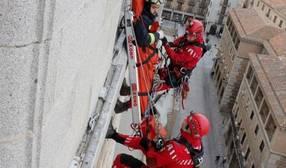 Toledo celebra las XII Jornadas de Rescate en Altura