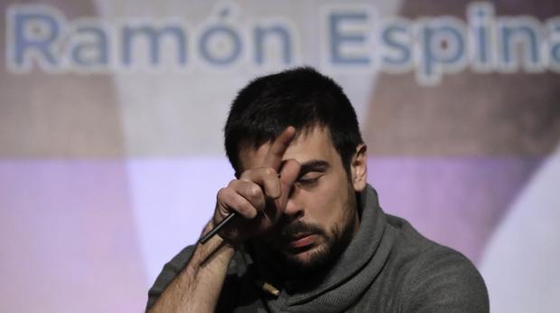 El nuevo secretario regional de Podemos, Ramón Espinar
