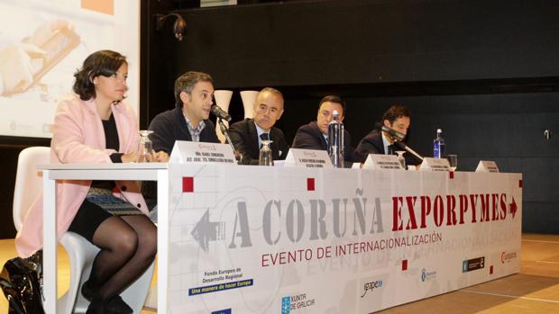 Imagen de la inauguración del encuentro esta mañana en el recinto de Expocoruña