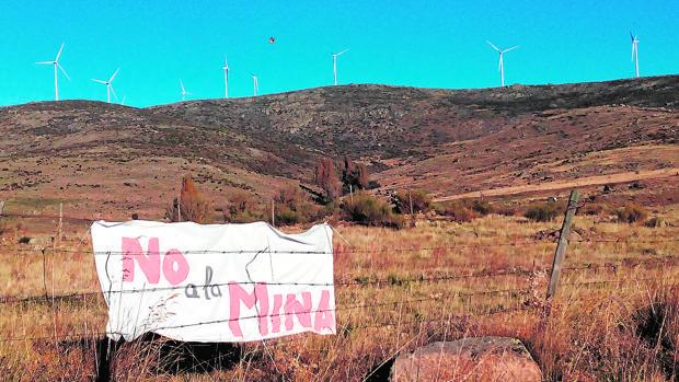 Lugar en el que se proyecta la mina de feldespato en la Sierra de Ávila